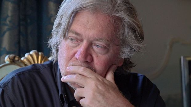 New this week: Steve Bannon in The Brink