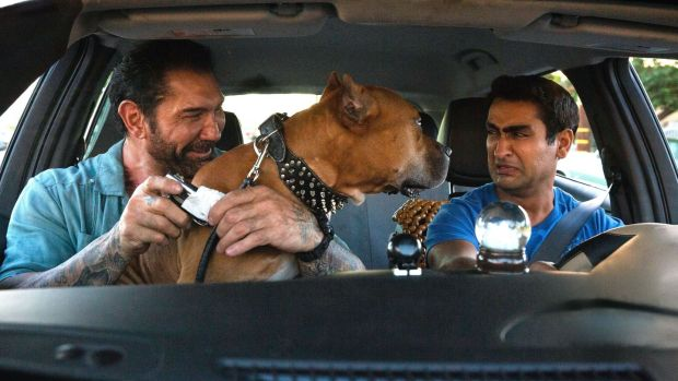 New this week: Dave Bautista and Kumail Nanjiani in Stuber