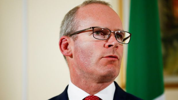 Tánaiste Simon Coveney: sought Cabinet approval for a 100-page contingency plan for a no-deal Brexit that made for grim reading. Photograph: Henry Nicholls/Reuters