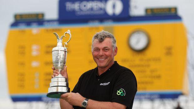 Darren Clarke played a big role in the British Open's return to Portrush. Photograph: Getty Images