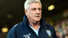 Steve Bruce: Sheffield Wednesday could seek up to £5m compensation package from Newcastle to let   their manager go. Photograph: Joe Giddens/PA Images via Getty Images