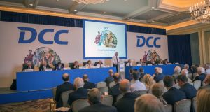 Diversified energy and services group DCC is to hold its annual general meeting on Friday. File photograph: Brenda Fitzsimons