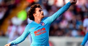 Antoine Griezmann has signed for Barcelona the club announced. Photo: Oscar Del Pozo/Getty Images
