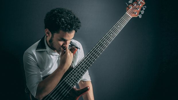 The astonishing Brazilian virtuoso bassist Michael Pipoquinha brings his quartet to Hawk's Well Theatre, Sligo on Thursday July 25th