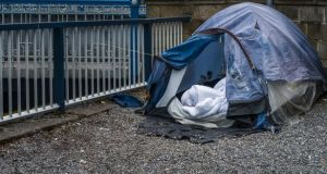 The Dublin Region Homeless Executive said it is aware that larger encampments of people living in tents have given rise to public order concerns. File photograph: Getty Images