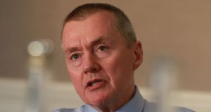 IAG chief executive Willie Walsh. The outline deal for 200 737s 'should be an indication not just to Airbus but to everybody that we're unhappy with their performance', Mr Walsh said. Photograph: Nick Bradshaw