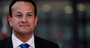 Taoiseach Leo Varadkar: checks on live animals and products could be carried out at ports in Northern Ireland and the Republic if the British government and the EU agreed to treat the island of Ireland as a single zone. Photograph: Kenzo Tribouillard/AFP