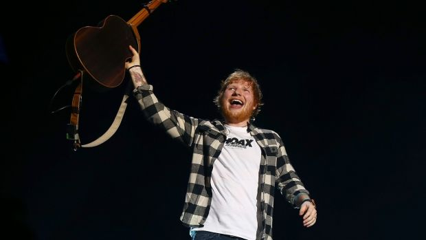Ed Sheeran: there's a tang of affecting authenticity about the parade of neuroses on display. Photograph: Paul Kane/Getty Images