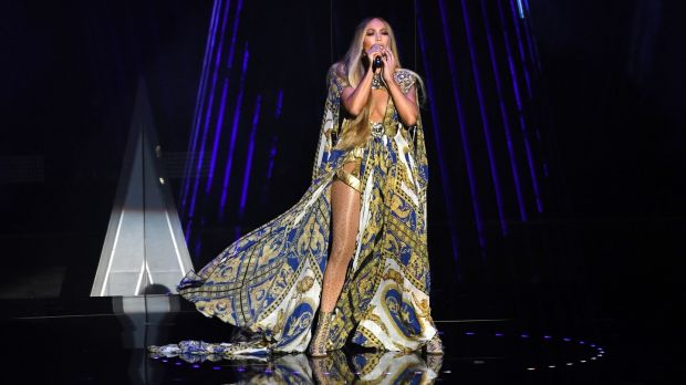 Jennifer Lopez, who has said she was heartbroken after being forced to cancel her planned show at Madison Square Garden after a power cut in New York. Photograph: PA/PA Wire