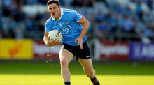 Dublin football manager Jim Gavin has confirmed that Diarmuid Connolly is back training with the senior team. Photograph: James Crombie/Inpho