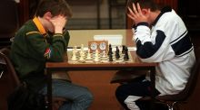Automatic chess-playing machines were crude and plodding, and easily beaten. Now they are unbeatable, even by a grand master thanks to clever algorithms. File photograph: Alan Betson