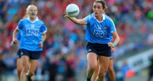 Niamh McEvoy's Dublin beat Waterford by 18 points in Portlaoise. Photograph: Tommy Dickson/Inpho