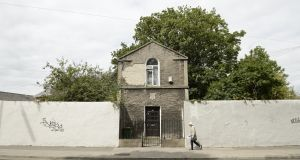 Gate lodge to the Jewish cemetery on Fairview Strand: Founded in 1718, it is one of the earliest surviving Jewish burial grounds in Ireland or Britain. Photograph: Enda O'Dowd