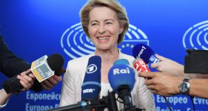 "European Commission president-designate Ursula von der Leyen considers the proposed EU-UK withdrawal agreement a good deal ""that we need to stick to without any question"". Photograph: Frederick Florin/AFP/Getty"