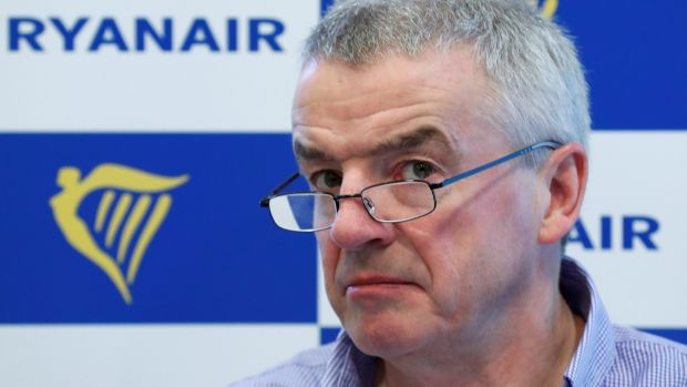 Ryanair CEO Michael O'Leary: The company behind Little Trees says the airline used an image for its car rental service virtually identical to its product, used worldwide over as a vehicle air freshener.