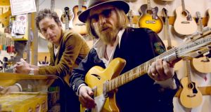 Jakob Dylan interviews Tom Petty in Andrew Slater's documentary film Echo in the Canyon