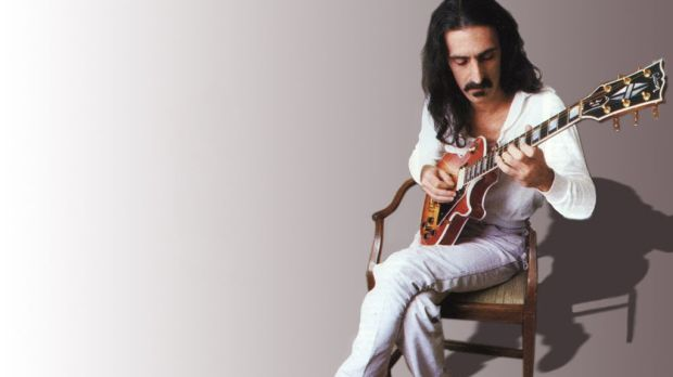 Frank Zappa: one of the early pioneers who set up home in clapboard cottages in Laurel Canyon