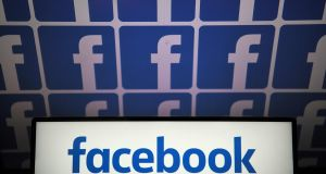 A file photo of the logo of Facebook. Photograph: LOIC VENANCE / AFP)LOIC VENANCE/AFP/Getty Images