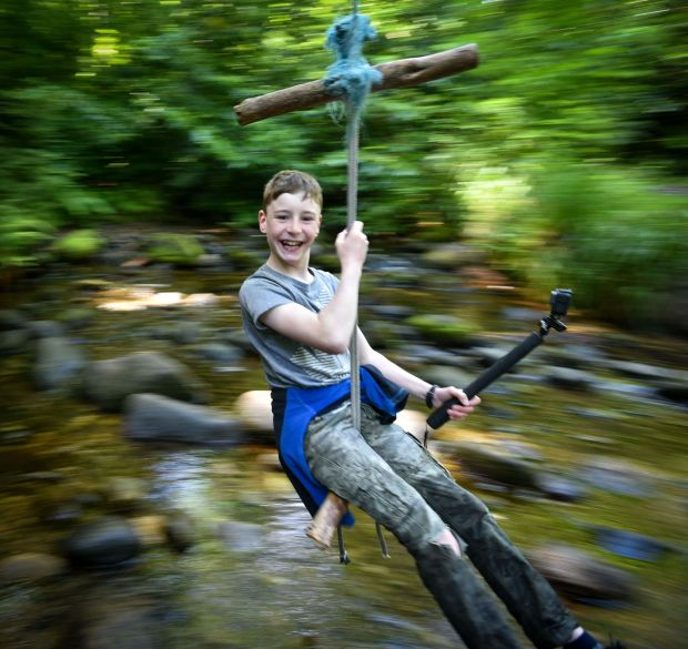 Summer Pix 2019: Going wild in Massy Woods, Co Dublin. Photograph: Mark Simpson