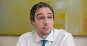 Minister for Health Simon Harris said his private secretary knew there was an issue in relation to an individual woman. Photograph: Gareth Chaney, Collins