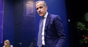 Mark Carney, governor of the Bank of England, is in the running for director general of the IMF. Photographer: Christophe Morin/Bloomberg