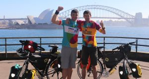 Two Irishmen are to cycle across 28 countries to raise funds for two charities - CMRF Crumlin and the Sydney Children's Hospitals Foundation. Paddy Flynn from Waterford and Daithí Harrison from Tipperary will cycle from Sydney to Dublin, starting on Sunday, August 4th. As well as the cycle, both men will run an ultra-marathon in each of the 28 countries along the way. To donate, go to idonate.ie/fundraiser/11379756_of-mountains-and-men.html
