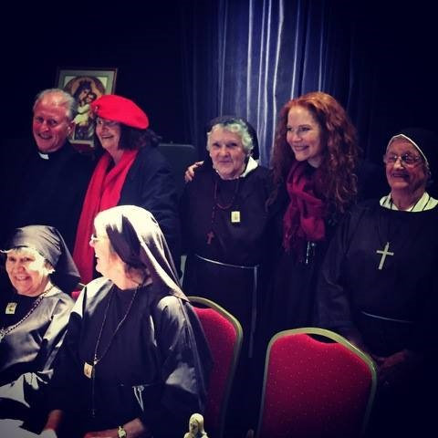 Irish Elders Theatre performing Nuns' Chorus by Sally Mulready at the Haringey Irish Centre in 2017.