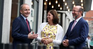 Fianna Fáil leader Micheál Martin called for  a separate department of higher education and research during a speech at an Irish Universities Association event. Photograph: Jason Clarke