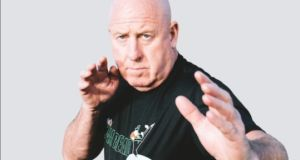 Total Kickboxing chief instructor master Liam Whelan, who has been involved in the sport since the 1980s