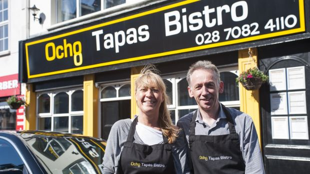 Trudy and Sean Brolly's Ocho Tapas Bistro in Portrush is open until 11pm, and has some tables reserved for walk-ins during the Open
