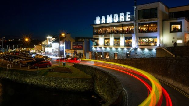 There are six restaurants and a bar at the Ramore complex in Portrush. Photograph: Courtesy of Northern Ireland Tourist Board
