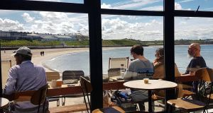 Sea views and an all-day brunch at Babushka Kitchen Café on Portrush's South Pier