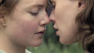 Keepers: Holliday Grainger and Anna Paquin in Tell It to the Bees
