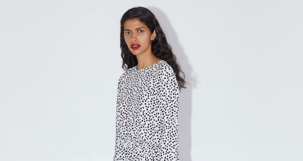b8b6aa49b3 Why is this Zara polka-dot dress such a hit? 'It's horrendous on me'