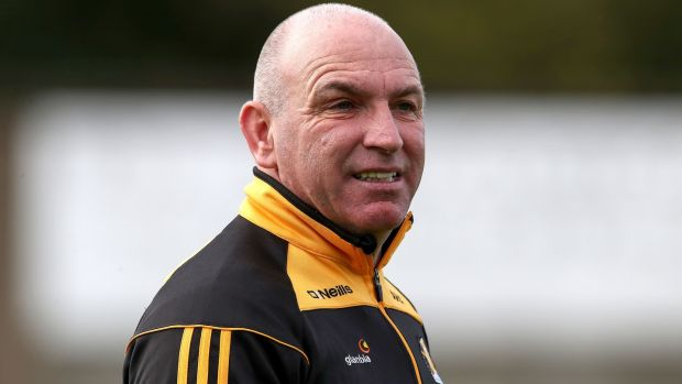 Kilkenny manager DJ Carey at Innovate Wexford Park on Wednesday. Photograph: Bryan Keane