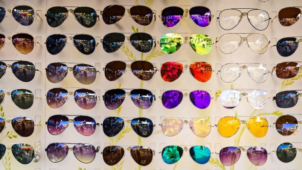 Many people spend big bucks on sunglasses based on how they look rather than how well the glasses protect their eyes. Photograph: iStock