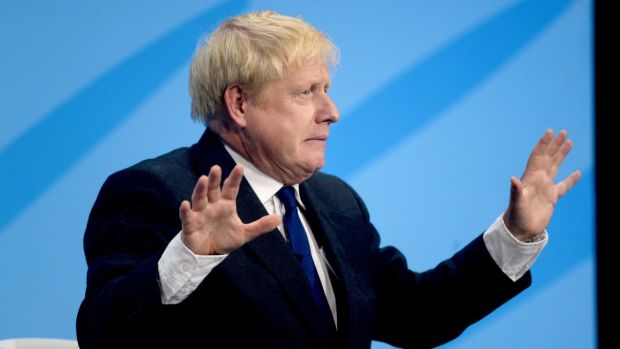 The British public - like him or loathe him - has been persuaded that Boris is a part of the happy mono-named community that also includes Adele, Bono and Liberace. Photograph: Kirsty O'Connor/PA Wire