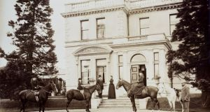 Photographs of Broomfield House, now the Bonnington Hotel, depicting Victorian life £100-£150, Chorley's.