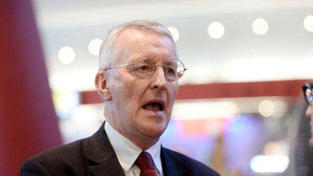 Labour's Hilary Benn: 'I do not think that we could accept circumstances, if I may coin the phrase, in which we were sent missing in action.' Photograph: Alan Betson/The Irish Times