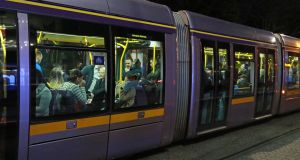 A man who assaulted a morning commuter on a Luas tram has been jailed. File photograph Nick Bradshaw/The Irish Times