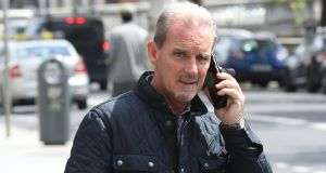 Martin Tucker: had been in breach of his monthly repayments with arrears reaching €75,700.  Photograph: Collins Courts