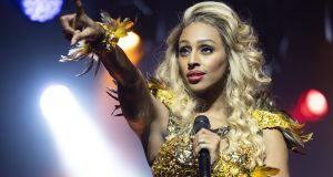 Alexandra Burke says The Bodyguard has been the hardest show of all the musicals she has done.