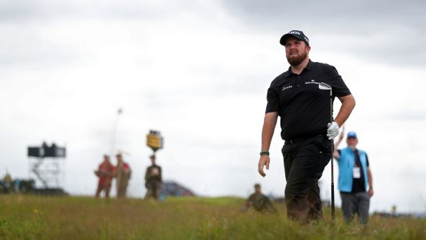 Shane Lowry shot a second-consecutive 67 at Portrush. Photograph: David Davies/PA