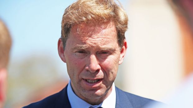"Defence Minister Tobias Ellwood denied that the UK had taken its ""eye off the ball"" after the vessel was commandeered in the Omani waters in the economically significant Strait of Hormuz. Photograph: Yui Mok/PA Wire"