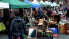 Dublin Flea Market  at Newmarket Square back in 2015. It was an exercise in community, creativity, entrepreneurship, friendship and fun. Photograph: Cyril Byrne