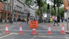 Dublin's College Green becomes traffic-free civic plaza for a day