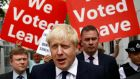 Boris Johnson represents 'a complete absence of principle and an endless capacity for mendacity'. Photograph: Henry Nicholls/Reuters