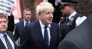 Boris Johnson's candidacy for the next UK prime minister was 'rather disappointing'. Photograph: Yui Mok/PA Wire