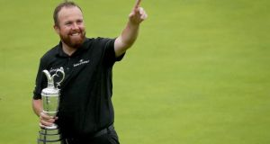 Shane Lowry: 'I kept telling myself 'you're in the driving seat' and I pulled away. I was calm, I was nervous, scared.'  Photograph: Oisin Keniry/Inpho