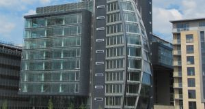 Heuston South Quarter in Dublin. The development includes six buildings with office, residential and retail accommodation